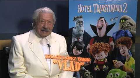 ¿Ya conocen a Vlad? Hotel Transylvania 2-0