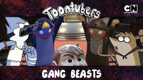 Gang Beasts en la Toontubers Wrestling Federation LUCHA LIBRE LETAL VIII! Cartoon Network