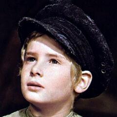 Oliver Twist (Mark Lester) en <a href=