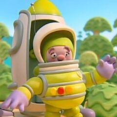 Astronauta Al en <a href=