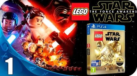LEGO Star Wars The Force Awakens Walkthrough Español Latino Gameplay Parte 1