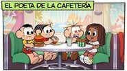 Mónica y sus Amigos El poeta de la cafetería