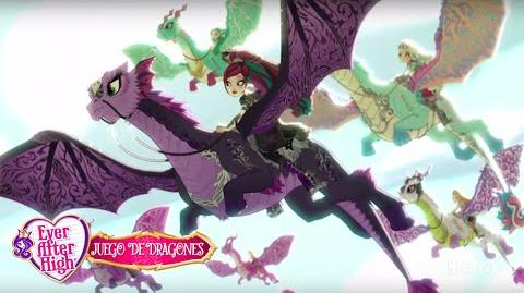 Avance oficial de Juego de Dragones Ever After High