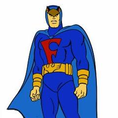 Fabulmán, el Halcón Azul (1ª voz) en <a href=