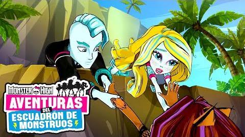 Monstruos isleños Aventuras del Escuadrón de Monstruos Monster High