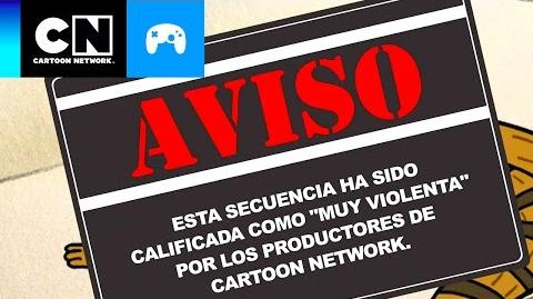 Mordecainado- El Hombre de Nieve Destructor Toontubers Cartoon Network