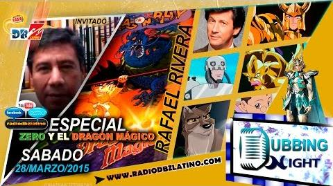 Rafael Rivera comentado sobre Zero y el dragón Mágico - Dubbing Night - Radio DBZ Latino