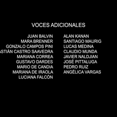 Voces adicionales episodio 4.
