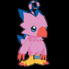 Biyomon y sus evoluciones  en <a href=