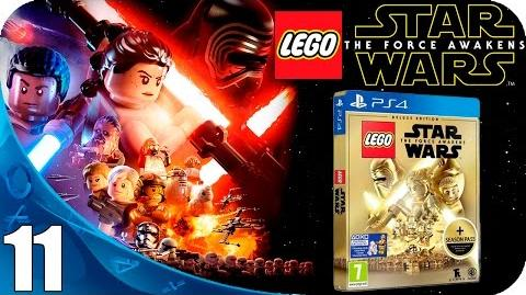 LEGO Star Wars The Force Awakens Walkthrough Español Latino Gameplay Parte 11