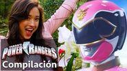 Power Rangers en Español Historia del Megaforce Ranger Rosa