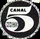Primer logotipo clasico de xhgc canal 5 1970-1973
