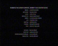 Créditos de doblaje de Bobby y los cazafantasmas (TV) (DXD)