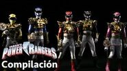 Power Rangers en Español Megaforce Rangers y Gosei