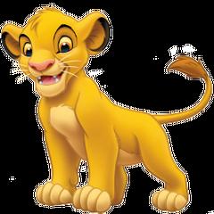 Simba (niño) en <a href=