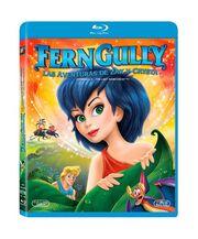 Blu-ray de Ferngully Las Aventuras de Zak y Crysta