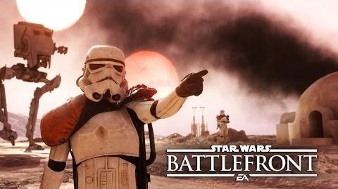 Star Wars Battlefront Tráiler de Lanzamiento