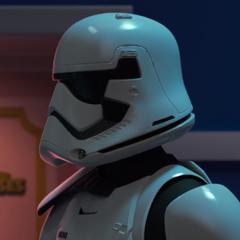 Stormtrooper en <a href=