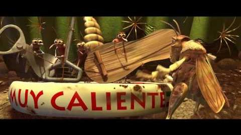 "Hopper (3 9) español spanish ""Bichos, una aventura en miniatura ""."