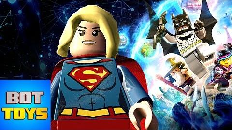 Lego Dimensions Year 2 Supergirl (71340 Polybag) en Español Latino
