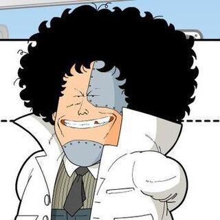 Dr. Mashirito (1ª voz) en <a href=