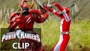Power Rangers en Español Overdrive Rangers vs Lagartos Lava!
