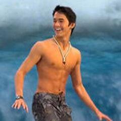 Kai, el surfista en <a href=