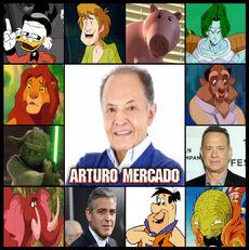 Arturo Mercado- el verdadero Rey León- Doblaje