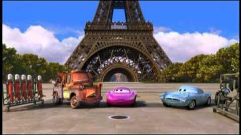 Cars 2- Escuela de Espías - Entrenamiento en París