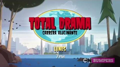 "Cartoon Network LA ""Total Drama Carrera Alucinante"" Promo - Estreno"