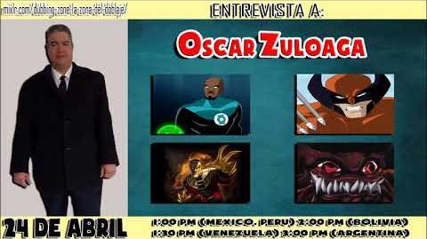 Entrevista a Oscar Zuloaga En Dubbing Zone