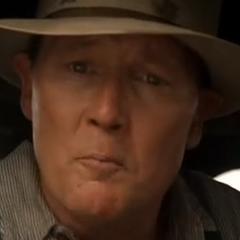 Ray Cash, también, de joven en la película <a href=
