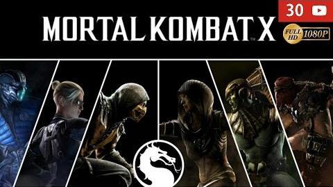 Mortal Kombat X Modo Historia completo