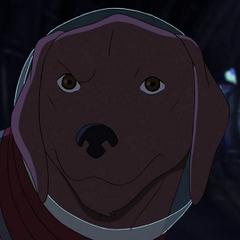 Cosmo el Perro Espacial en <a href=