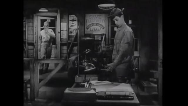 EN GUERRA CON EL EJERCITO(1950) MUESTRA DE DOBLAJE LATINO