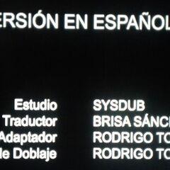 Créditos de doblaje de la 5.ª temporada (1).