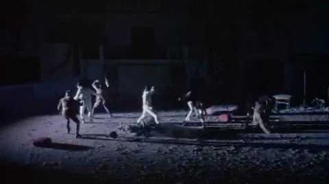 La Naranja Mecanica A Clockwork Orange - Pelea de bandas Bands Fight (latino)