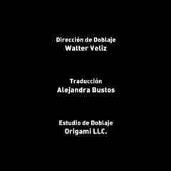 Creditos de doblaje (Episodio 11)
