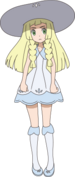 Lillie anime
