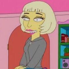 Lady Gaga en <a href=