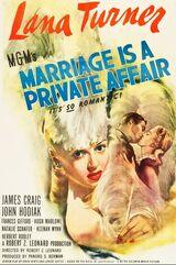 El matrimonio es un asunto privado