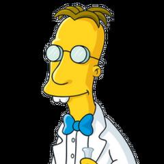 Profesor Frink en <a href=