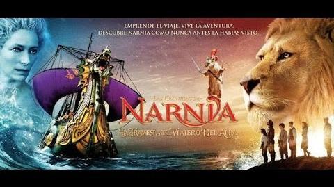 Tráiler Latino de las Crónicas de Narnia- La Travesía del Viajero del Alba (2010)