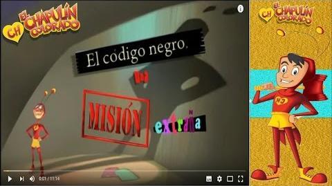 El Chapulin Animado Cap 18 'El Código Negro, Una Misión Extraña'