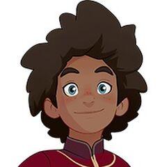 Príncipe Ezran en <a href=
