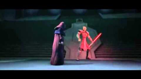 Batalla en Mandalore (Maul vs Sidious) Audio Latino.