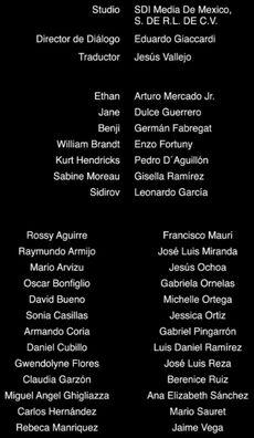 Doblaje Latino de Misión Imposible Protocolo Fantasma