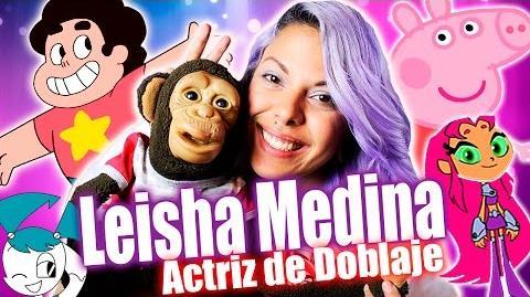 Leisha Medina Voz STEVEN UNIVERSE - Chango Memé