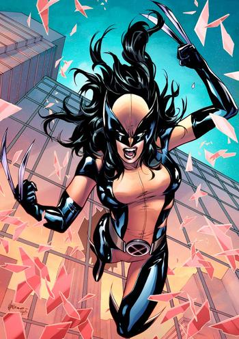 Mujer Wolverine