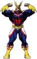 All Might Hero Form Full Body MHA